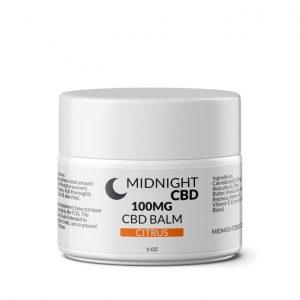 100mg Citrus CBD Balm Product Picture