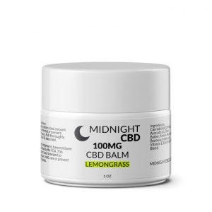 100mg Lemongrass CBD Balm Product Picture